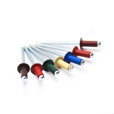 Заклепка DIN 7337 витяжна алюміній/сталь 4,0x10 кольорова RAL (1000 шт)